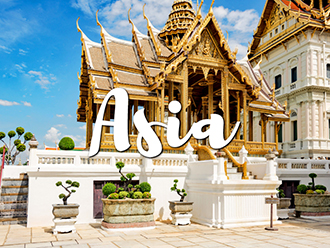 Where to travel in Asia