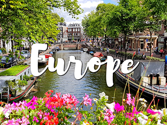 Where to travel in Europe