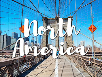 Where to travel in North America
